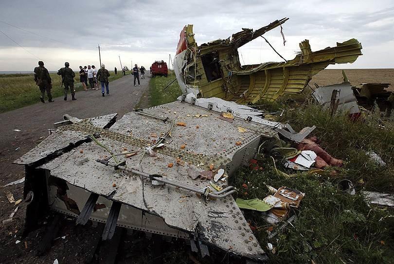На месте авиакатастрофы пассажирского «Боинга» на Донетчине уже обнаружили тела 121 погибшего (ВИДЕО+ФОТО), фото-6