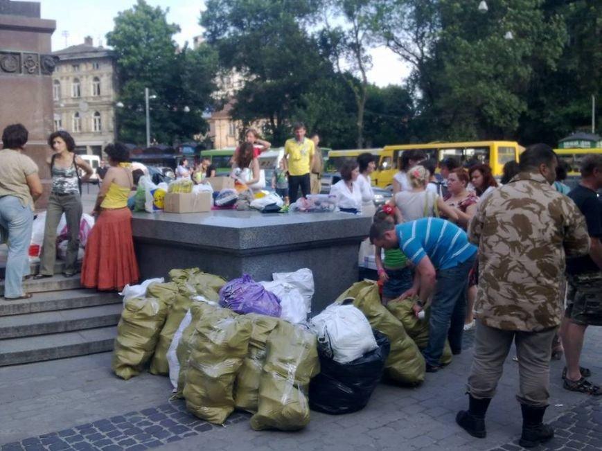 У Львові встановили рекорд зі збору «гуманітарки» в АТО(фоторепортаж), фото-13
