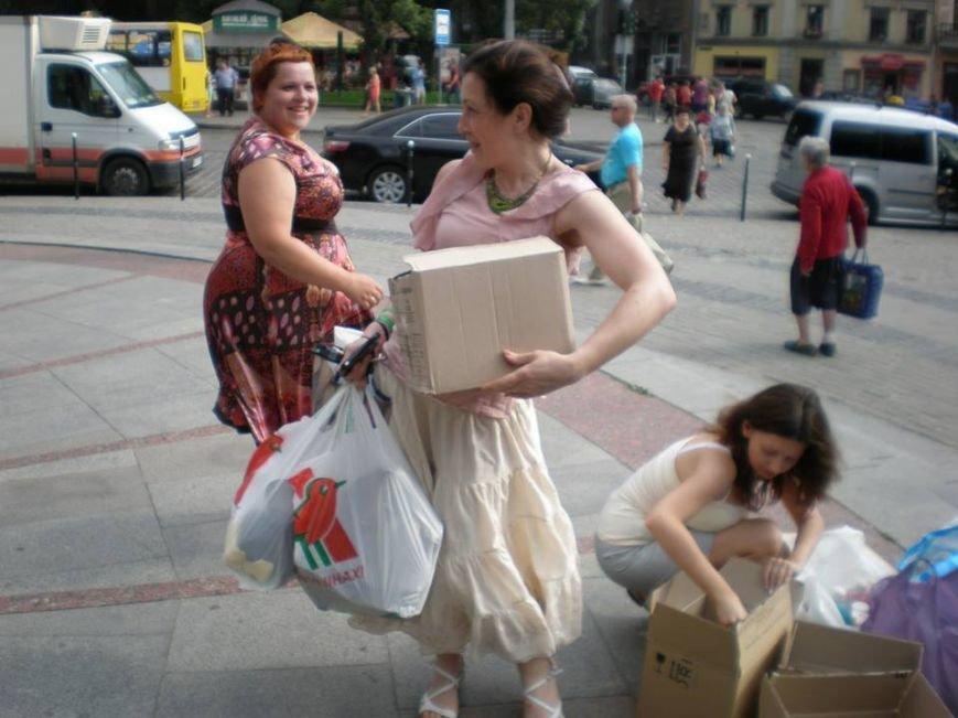 У Львові встановили рекорд зі збору «гуманітарки» в АТО(фоторепортаж), фото-12