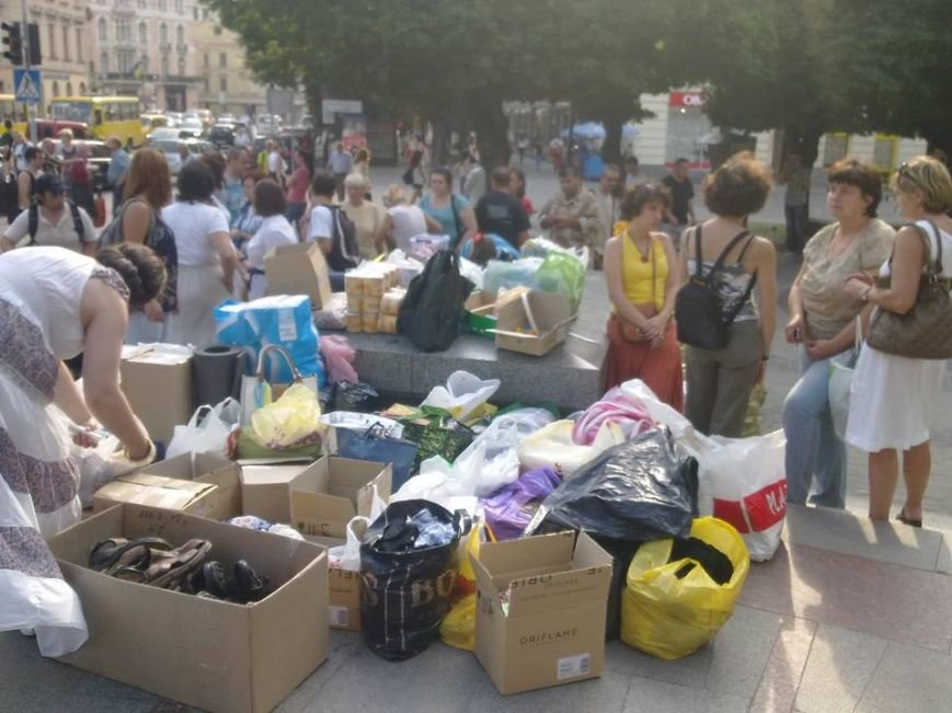 У Львові встановили рекорд зі збору «гуманітарки» в АТО(фоторепортаж), фото-8