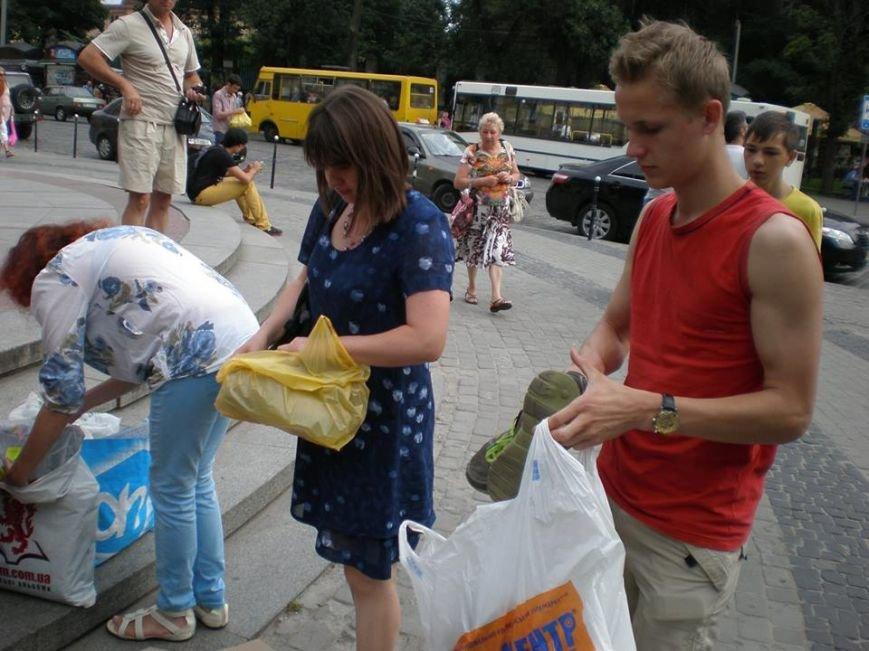 У Львові встановили рекорд зі збору «гуманітарки» в АТО(фоторепортаж), фото-15