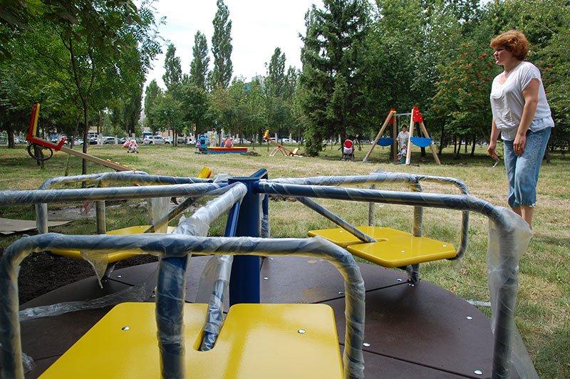 В Белгороде благоустраивают Южный сквер на Харьковской горе, фото-1