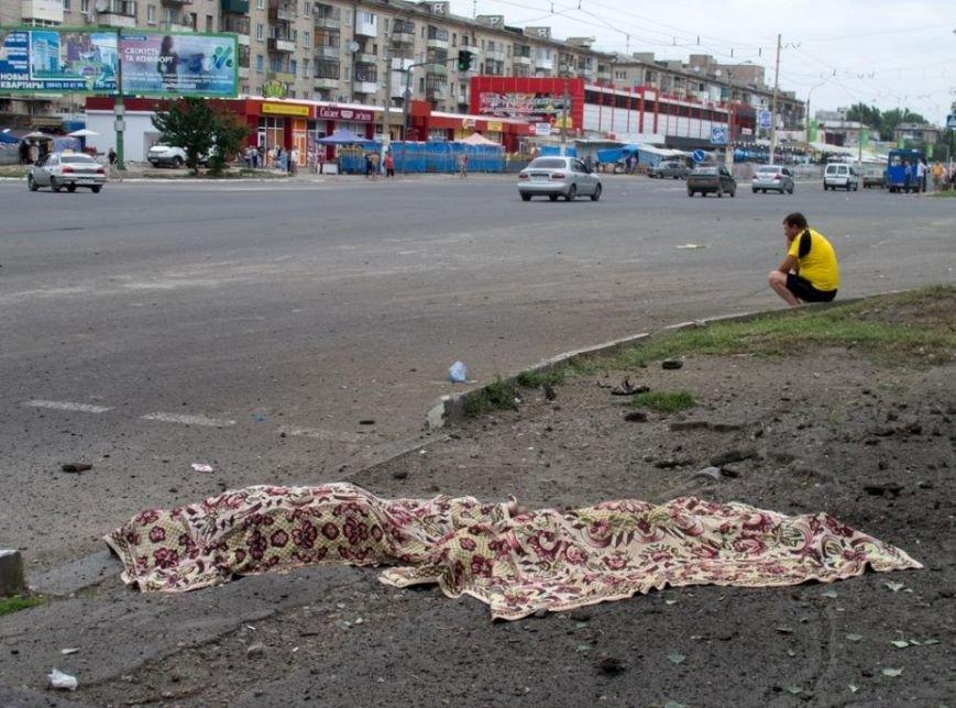 В Луганске в результате артобстрела погибли более 20 человек (ВИДЕО 18+), фото-2