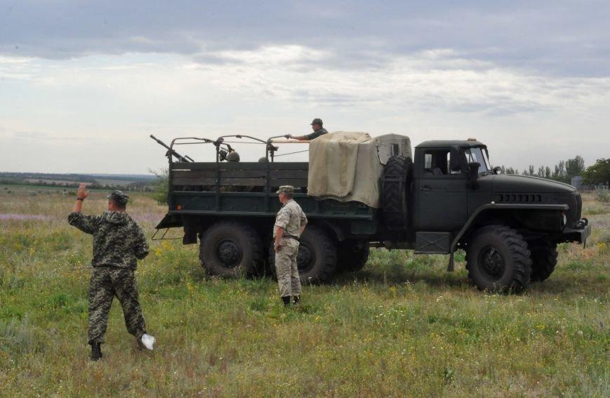 В Запорожье испытали на прочность передвижной блокпост для защиты украинской армии в зоне АТО (ФОТО, ВИДЕО), фото-7