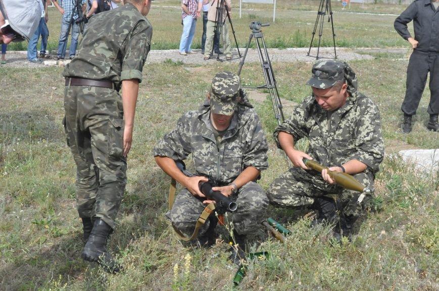 В Запорожье испытали на прочность передвижной блокпост для защиты украинской армии в зоне АТО (ФОТО, ВИДЕО), фото-5