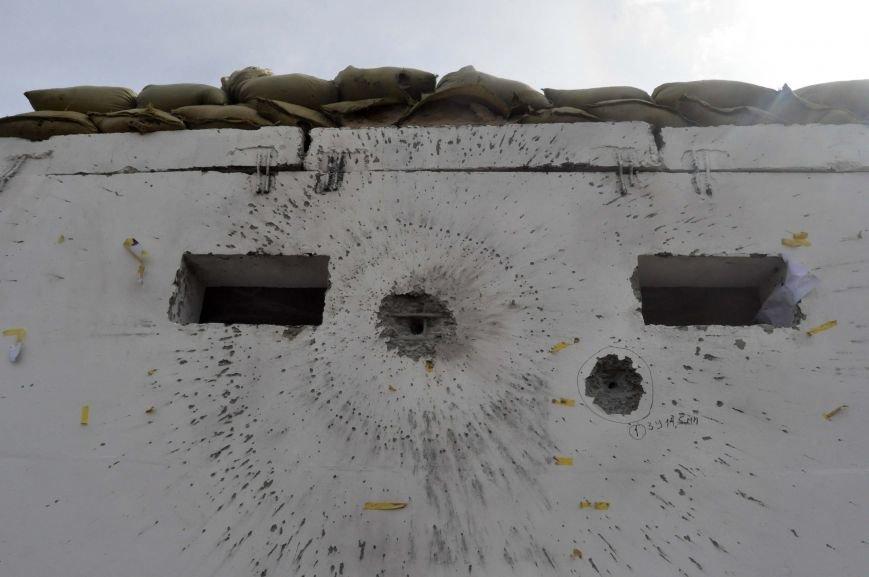 В Запорожье испытали на прочность передвижной блокпост для защиты украинской армии в зоне АТО (ФОТО, ВИДЕО), фото-1