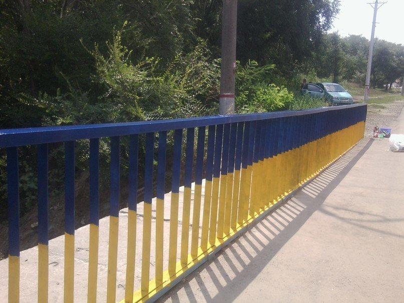 В Кривом Роге одним «сине-желтым» мостом стало больше (ФОТО), фото-8