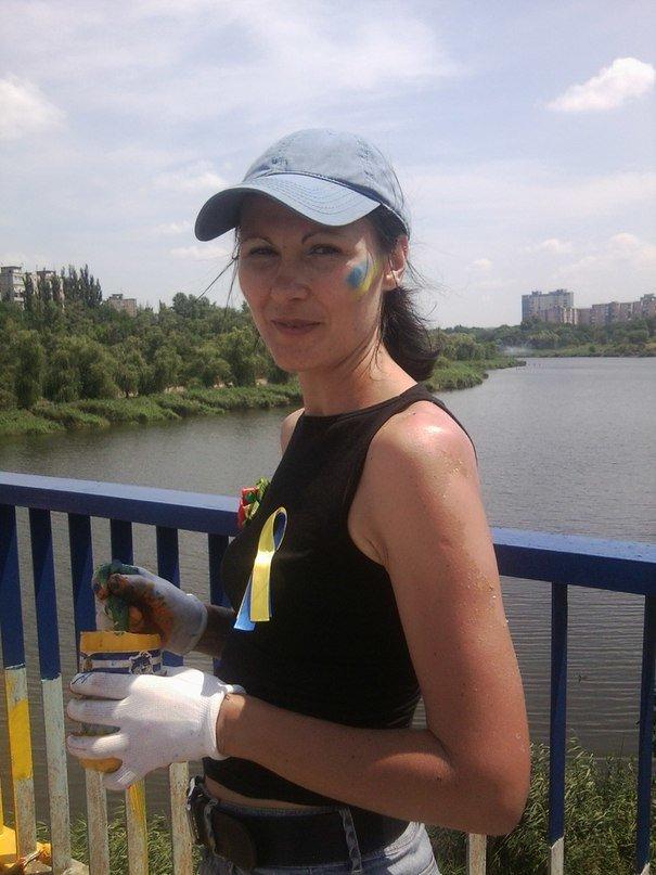 В Кривом Роге одним «сине-желтым» мостом стало больше (ФОТО), фото-6