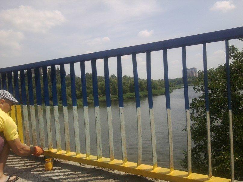 В Кривом Роге одним «сине-желтым» мостом стало больше (ФОТО), фото-4