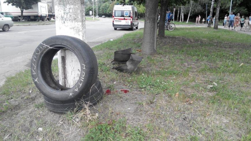 В Сумах на ул. Д. Коротченко пьяный водитель сбил велосипедиста и пешехода (ФОТО), фото-2