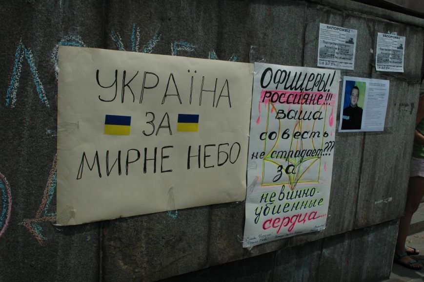 В Запорожье прошел митинг против агрессии России (ФОТО), фото-2