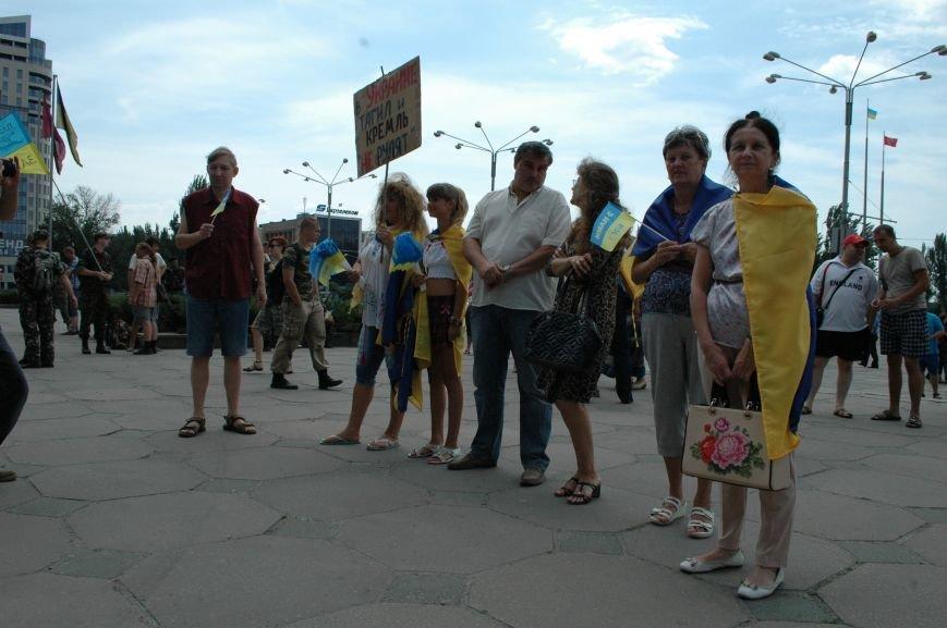 В Запорожье прошел митинг против агрессии России (ФОТО), фото-8