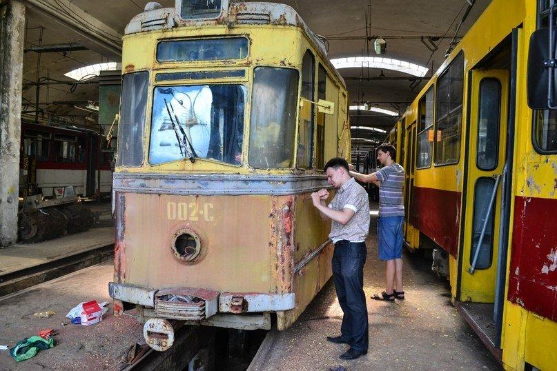 У Львові відкриють музей електротранспорту. Почали реставрувати майбутні експонати (фоторепортаж), фото-1