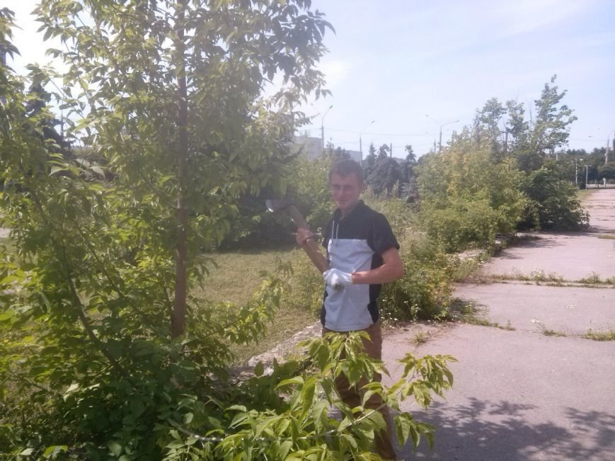 Сумчани убрали територию вокруг «Романтики» (ФОТО), фото-3