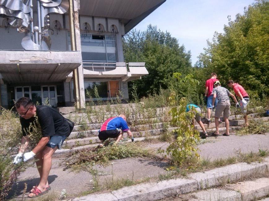 Сумчани убрали територию вокруг «Романтики» (ФОТО), фото-6