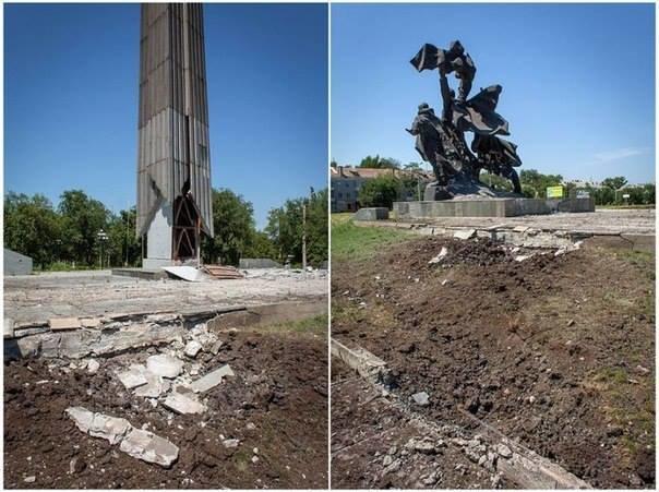 Активіст, який приїхав до Львова з Луганська, в шоці від того, що сталось з його рідним містом (фоторепортаж), фото-5