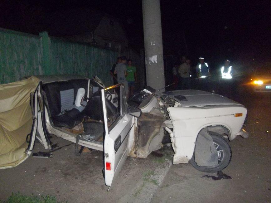 В Сумах на Барановке «шестерка» врезалась в столб. Водитель погиб (ФОТО), фото-3
