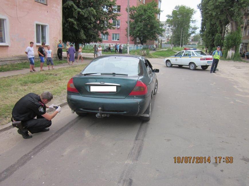 На Сумщине «Форд» сбил насмерть выбежавшего на дорогу пешехода (ФОТО), фото-1