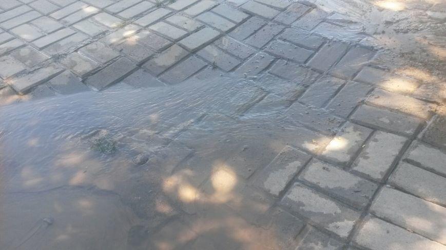 По Мариуполю растекается зловонная вода (ФОТО), фото-4