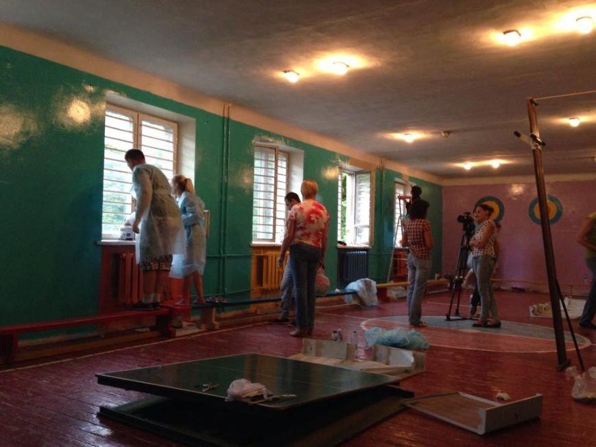 Неравнодушные киевляне преобразили школу-интернат (ФОТО), фото-1