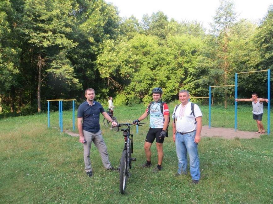 Определены места первых черниговских эко-велопарковок, фото-1
