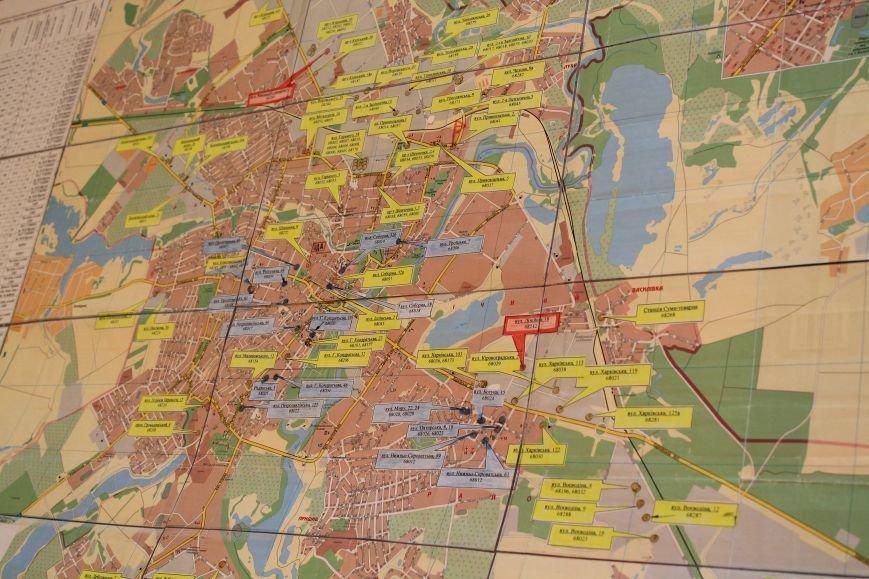 Власти Сум продемонстрировали карту расположения защитных сооружений (ФОТО), фото-2