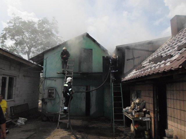 На Рівненщині для гасіння пожежі воду брали за три кілометра (Фото), фото-1