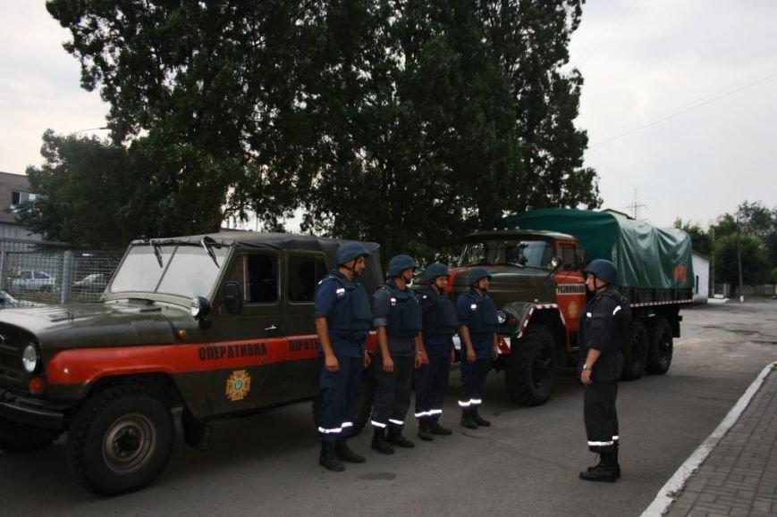 Запорожские пиротехники отправились для разминирования ТЭС в Славянске (ФОТО), фото-1