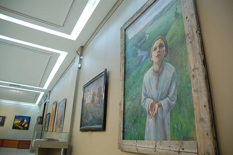 В Белгородском государственном художественном музее работают две новые выставки, фото-8