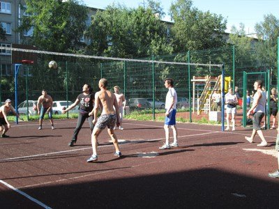спорт, город Пушкин, волейбол, Царское Село