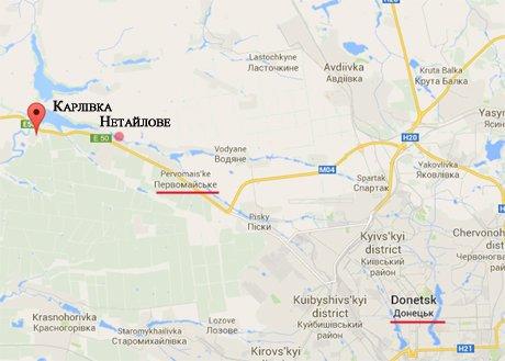 Стрелков признал, что боевики «ДНР»  оставили Карловку, Нетайлово и Первомайское, фото-1