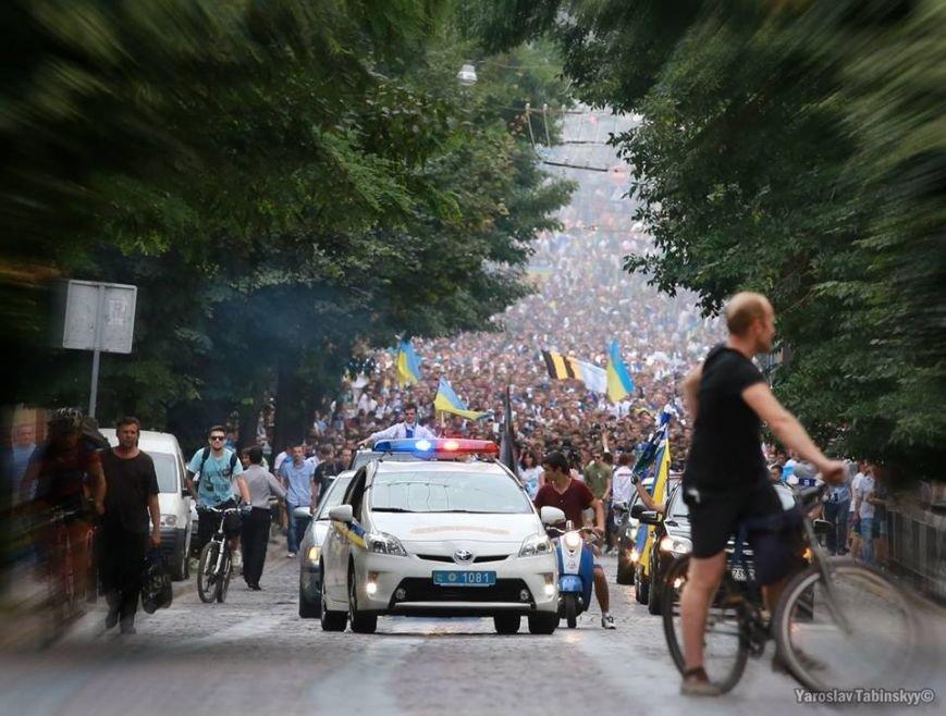 Голова «Путіна» рушила на «Арену Львів» через усе місто (фоторепортаж), фото-2