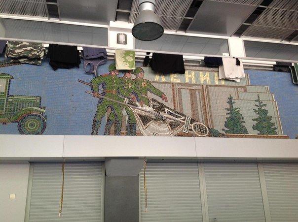 В соцсетях показали, как живет батальон «Днепр-1» в мариупольском аэропорту (ФОТО), фото-4