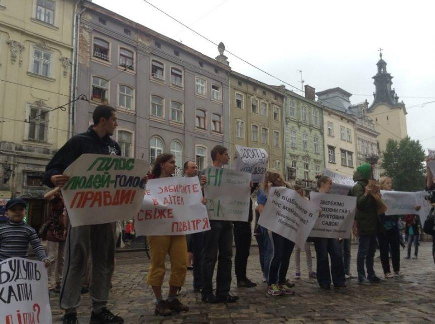 Львів'яни вимагають, щоб у них перестали красти землю під носом (ФОТО), фото-2