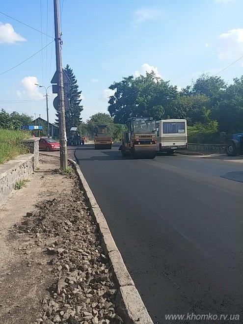 У Рівному на вулиці Чорновола заасфальтували дорогу (Фото), фото-3
