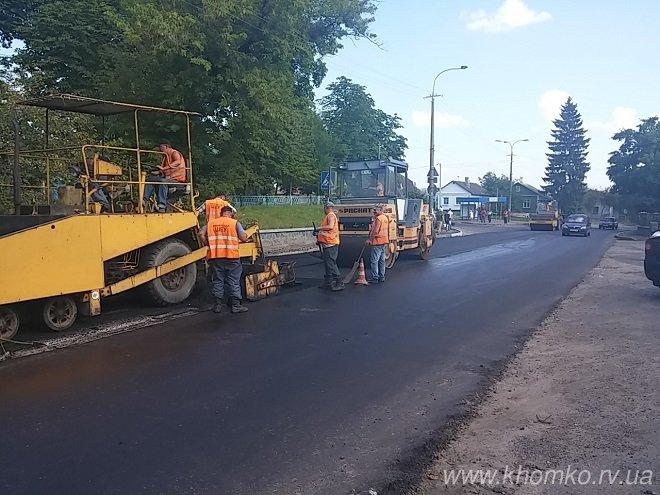 У Рівному на вулиці Чорновола заасфальтували дорогу (Фото), фото-6