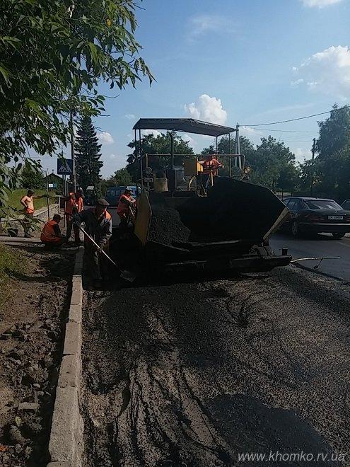 У Рівному на вулиці Чорновола заасфальтували дорогу (Фото), фото-2