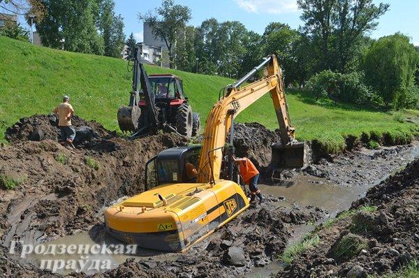 Фоторепортаж: восстановление Гродно после сильного потопа 12 июля (фото) - фото 5