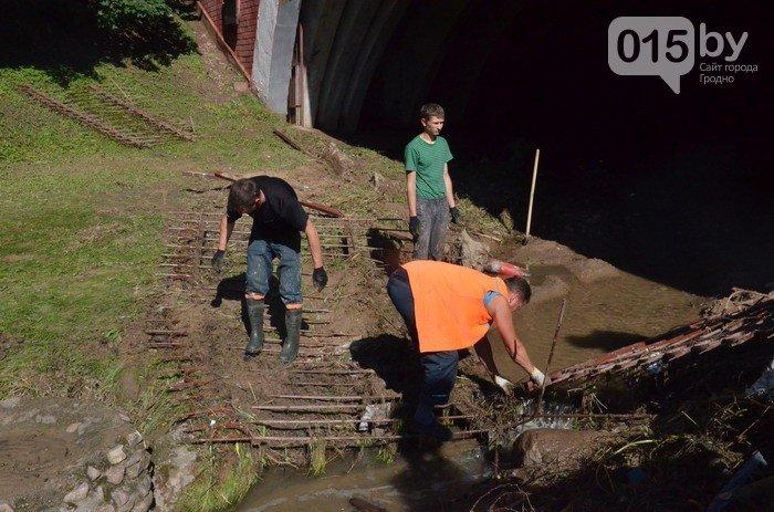Фоторепортаж: восстановление Гродно после сильного потопа 12 июля (фото) - фото 11