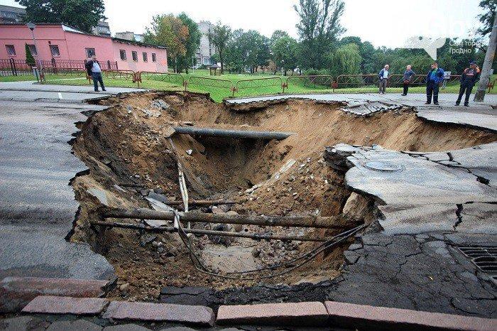 Фоторепортаж: восстановление Гродно после сильного потопа 12 июля (фото) - фото 1