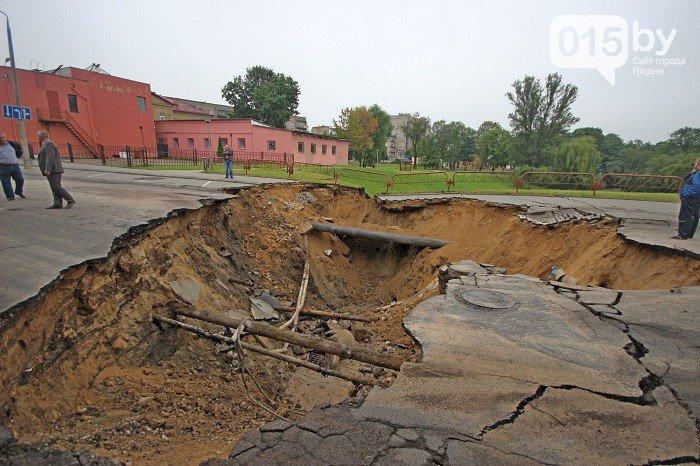 Фоторепортаж: восстановление Гродно после сильного потопа 12 июля (фото) - фото 2