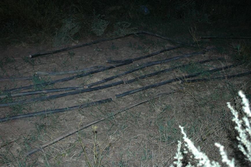«Террористы» на Хортице оказались расхитителями кабеля (ФОТО), фото-1