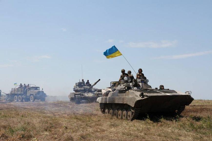 Як українські військові виконують бойові дії в АТО (фоторепортаж), фото-1