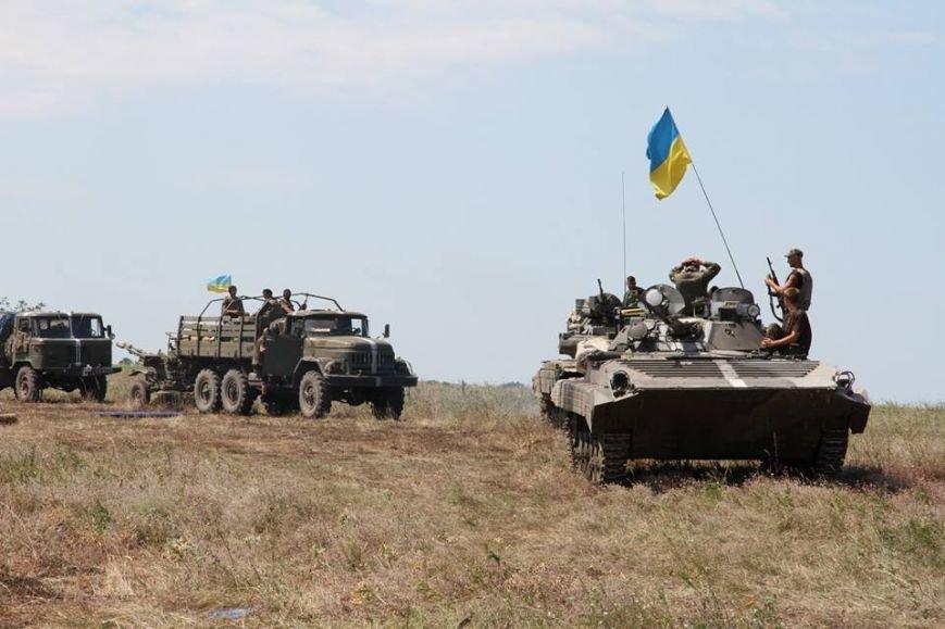 Як українські військові виконують бойові дії в АТО (фоторепортаж), фото-11