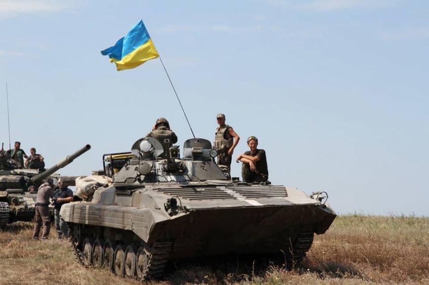 Як українські військові виконують бойові дії в АТО (фоторепортаж), фото-12
