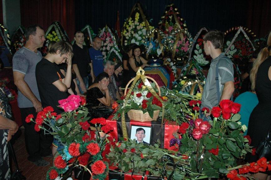 Запорожская область простилась с бойцами, погибшими в небе над Луганском (ФОТО), фото-18