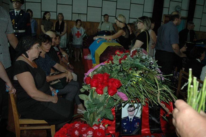 Запорожская область простилась с бойцами, погибшими в небе над Луганском (ФОТО), фото-13
