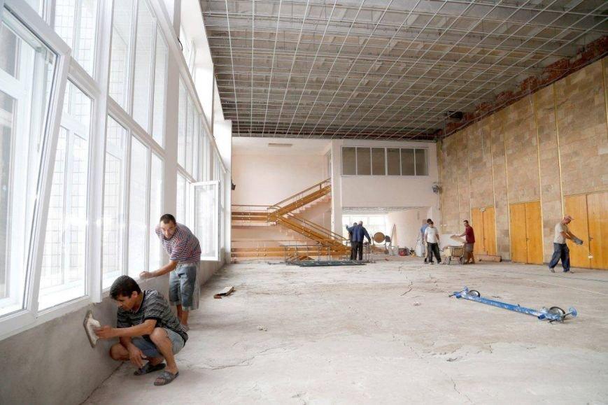 Во Дворце пионеров ильичевцы  обновят фойе, танцевальный класс и вестибюль, фото-4