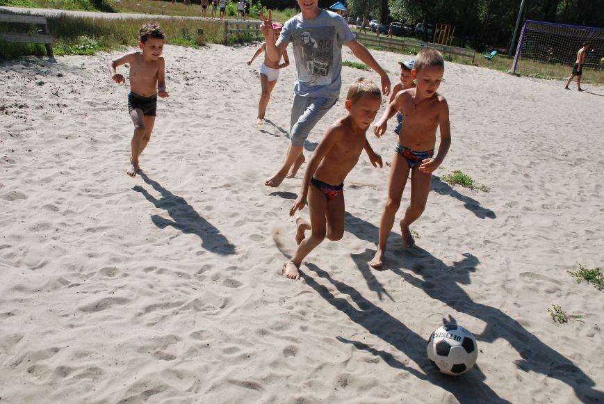 На черниговском пляже «Золотой берег» стартовала неделя здоровья, фото-1