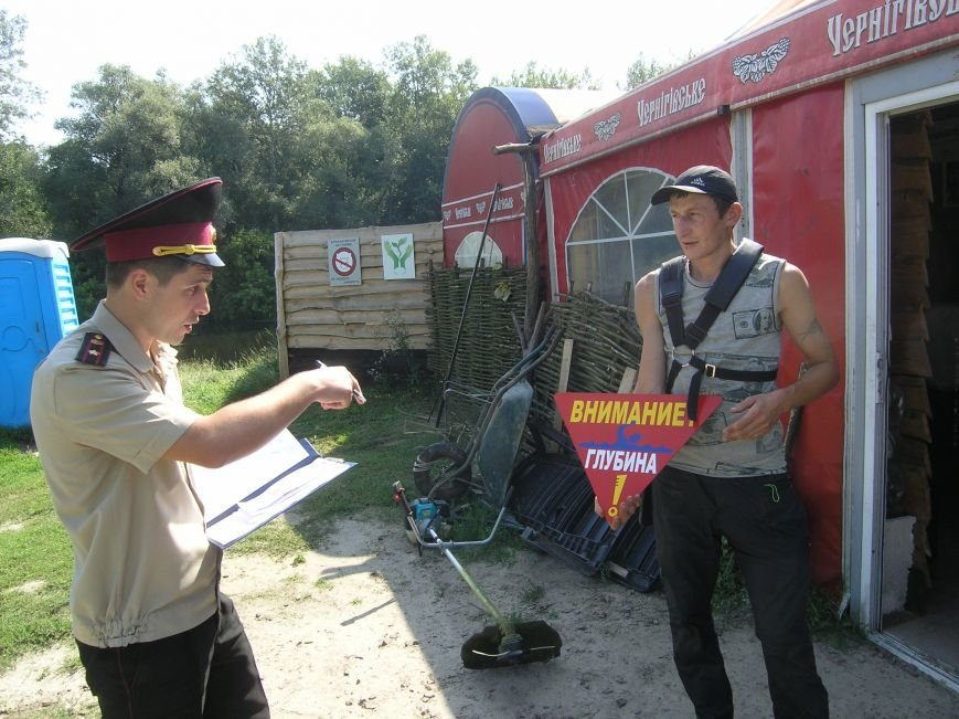 Спасатели рассказали сумчанам, как нужно вести себя на водоемах (ФОТО), фото-2